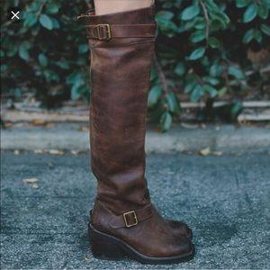 Jeffrey Campbell Morgan High Knee Boots